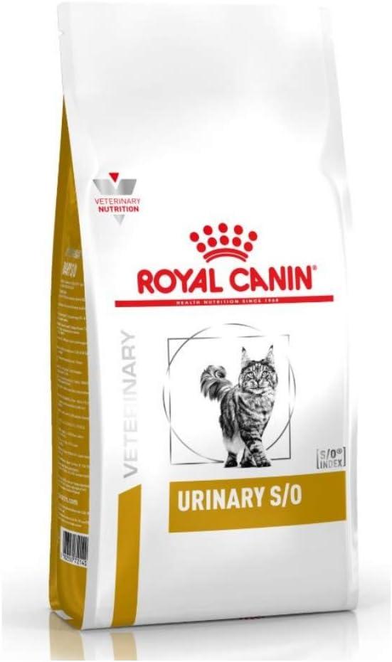 Royal Canin Urinary S/O - Comida para gatos, Veterinary Diet, 7 Kg