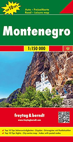 Montenegro  English  Spanish  French And German Edition