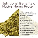 Nutiva Hi Fiber Hemp Protein Powder - 16 OZ