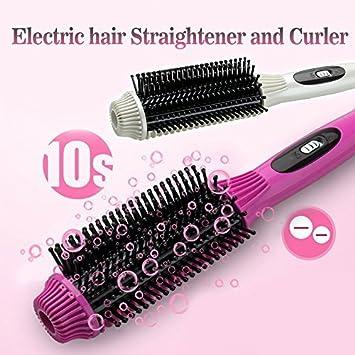 jianghongwei alisador de cabello rizador de cabello Combo Auto Termostato Volumen peine peine recta, color blanco: Amazon.es: Bricolaje y herramientas