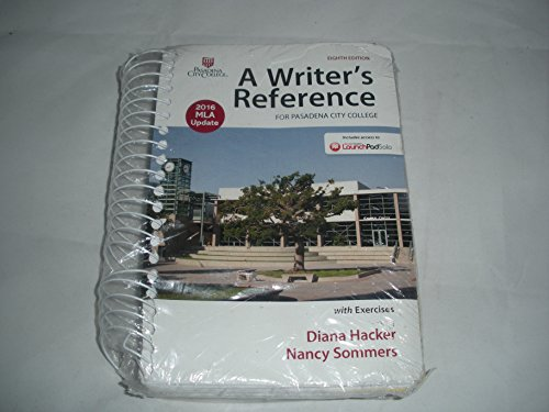 Quick Access: Reference for Writers, MLA Update, 8th Edition