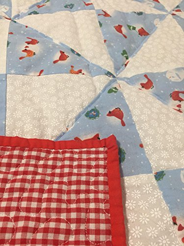 Christmas Themed Baby Quilt by SC Equine