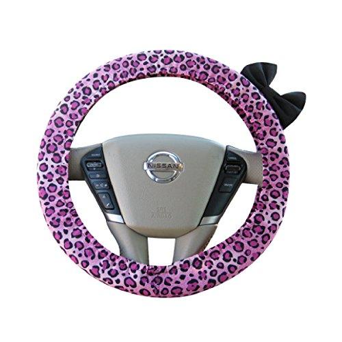 car accessories pink cheetah - 4
