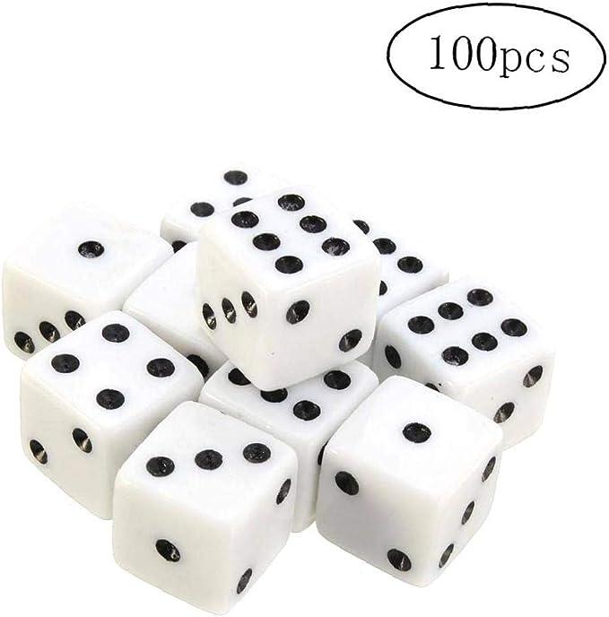 Dados con puntos negros Pips para juegos de mesa Actividad tema ...