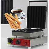 Hanchen Instrument NP-21 7pcs Commercial Churro Machine/Electric Chinese Donut Maker/Rectangular Waffle Machine 110V/220V