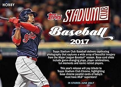 2017 Topps Stadium Club Baseball Hobby Box - 2 AUTOS!