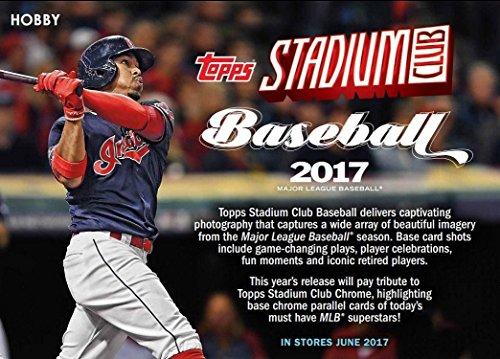 Autographed Baseball Pack (2017 Topps Stadium Club Baseball Hobby Box - 2 AUTOS!)