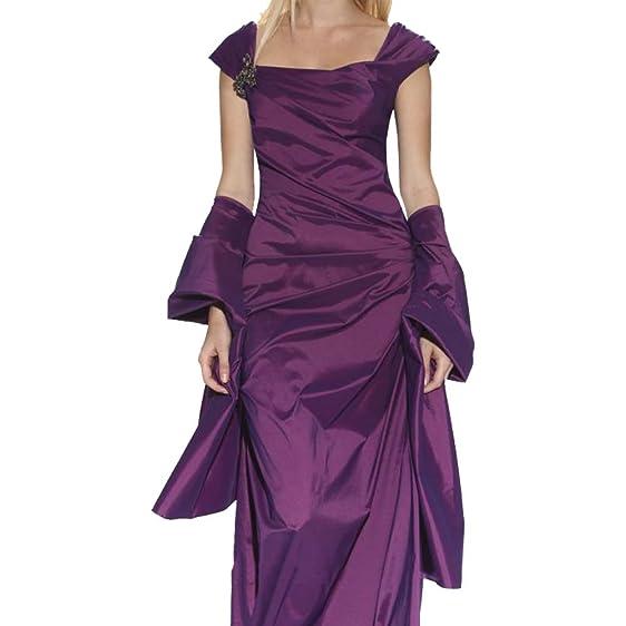 Tadashi Shoji Women\'s Iridescent Stretch Taffeta Gown With Sash ...