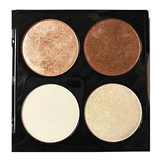 Miss Claire Miss Claire Bronze & Highlighter Makeup Studio Palette 3, Multi, 8 Grams, Bronze, 8 g