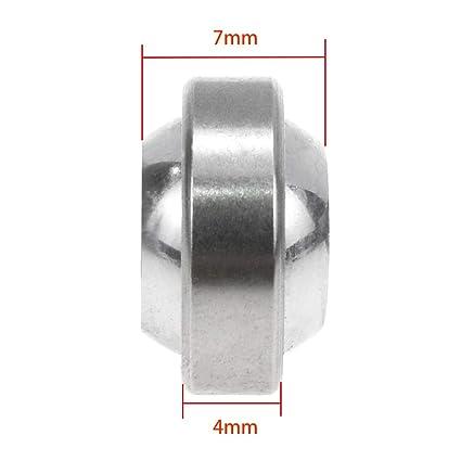 Sydien Durable Steel GEG4C Radial Sealed Spherical Plain Bearing 4mm Bore 14...