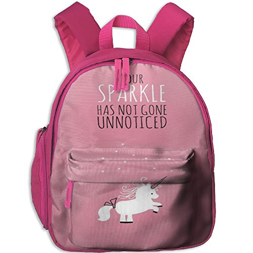 Little Girls Boys Personalized Waterproof Kids Backpack With Adjustable Shoulder Straps Unicorn Horse Printed Mini Backpack Gift For Children In Pre School Or Kindergarten