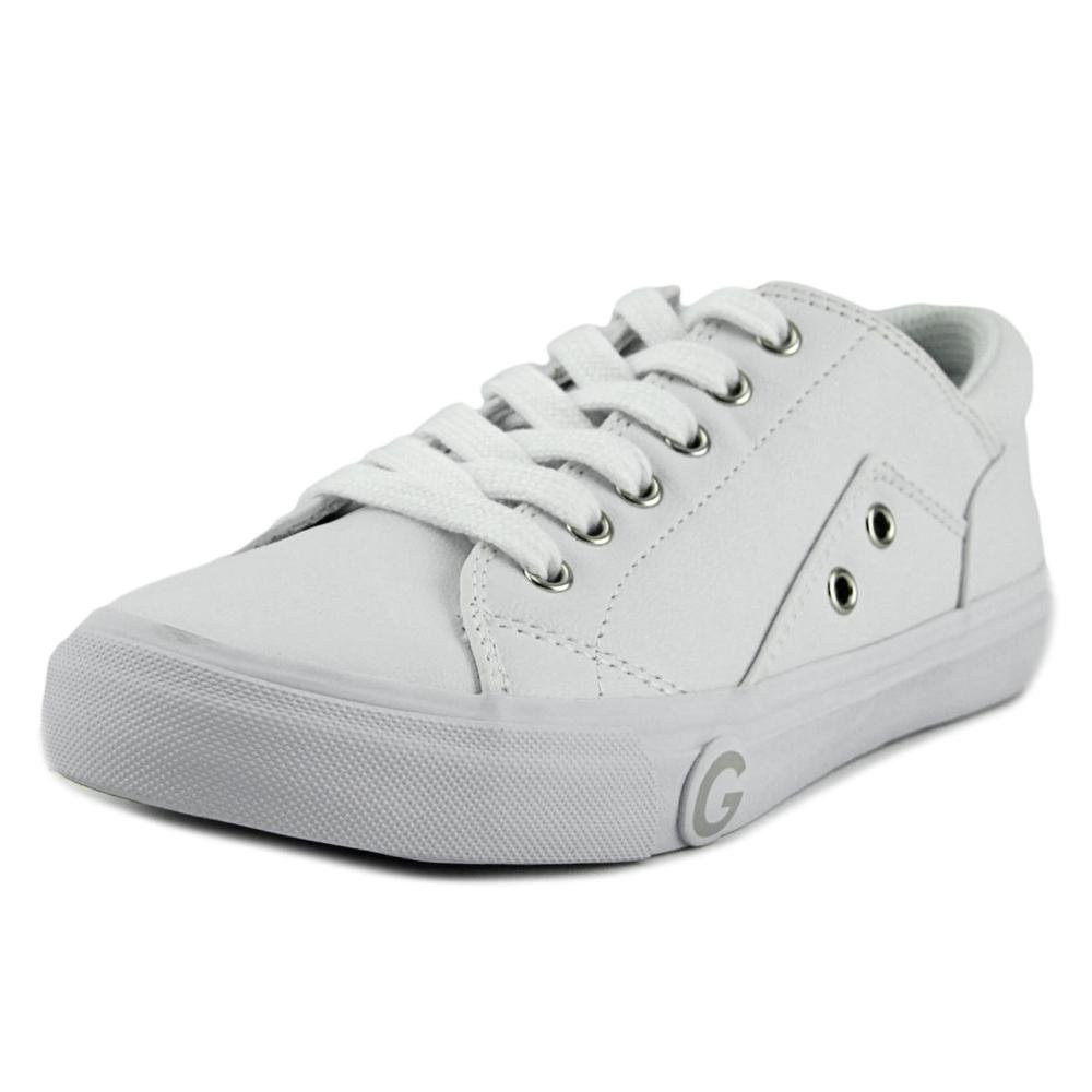 1800a4d15902e G by GUESS Womens Chai Low Top Lace Up Fashion Sneakers, White, Size 8.0  Xpnv