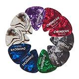 1cc74721a7c ChromaCast Pearl Celluloid Guitar Picks (10 Pack - Medium Gauge)