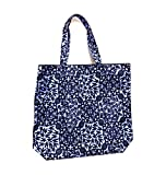 ESTEE LAUDER Canvas Blue/Black Tote Bag!