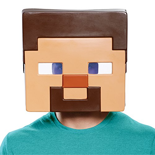 Disguise Men's Steve Adult Mask, Brown, One Size -