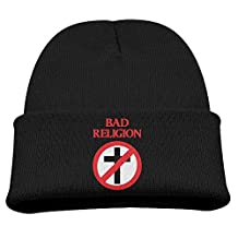Bad Religion Black Baby Boy Wool Winter Knit Cap