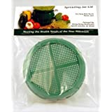 Sprouting Strainer Lid by Handy Pantry - Fits Most Canning Jars - Grow Sprouts