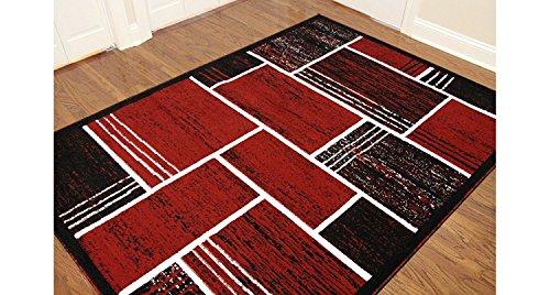 Cheap  Printed Rectangles and Squares Fashionable Area Rug, Eldorado Modern Design, Elegant and..