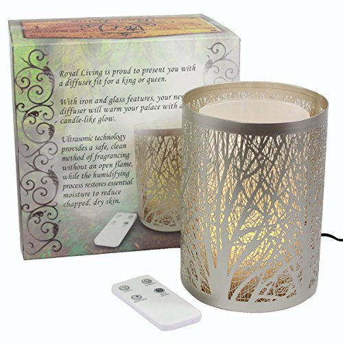 Enchanted Forest Essential Oil Diffuser, Ultrasonic Aromatherapy Humidifier