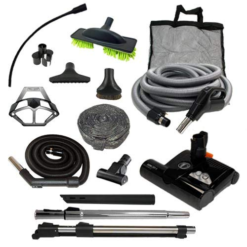 Diamond Central Vacuum Accessory Kit w/Sebo ET-1 (Direct Connect, 30′)