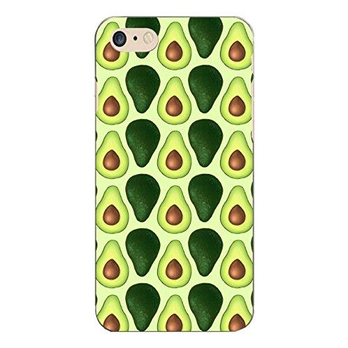 "Disagu SF-sdi-5312_1119#zub_cc7035 Design Schutzhülle für Apple iPhone 7 - Motiv ""Avocados lined grün"""