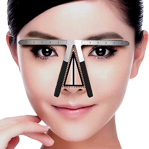 Eyebrow Ruler , Eyebrow Balance Caliper Stencils for (Ruler Type)