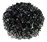 Cheap American Fireglass 1/4″ Black Fire Glass, 55 lb. Bag