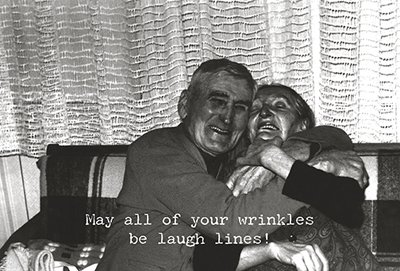 Laugh Lines Greeting Card, Set of 3