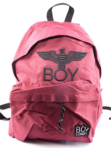 BOY LONDON mochila unisex con BLA-17 BURDEOS Press Bordeaux