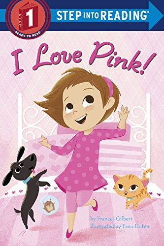 Books Free Reading Beginning (I Love Pink! (Step into Reading))