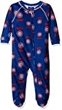 MLB Chicago Cubs Infant Boys Sleepwear All Over Print Zip Up Coveralls, 18 Months, Deep Royal