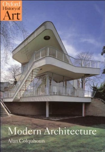 Modern Architecture (text only) by A. Colquhoun PDF