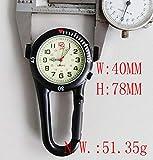 Clip On Outdoor Quartz Watches Carabiner Watches