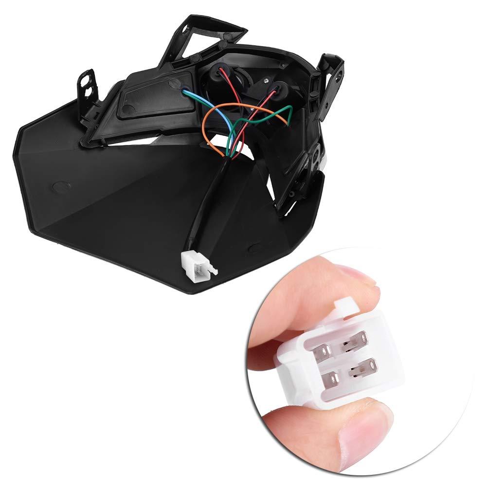 Universale Faro Motore a LED 10W Luce carenatura Personalizzata per Moto Street Fighter Sport KIMISS DC 12V Indicatore Faro alogeno per motocicli