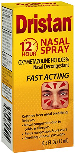 Spray Nasal Hr 12 (Dristan Nasal Decongestant, 12-Hr Nasal Spray, .5 oz.)