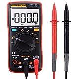 KASUNTEST TRMS Digital Multimeter 9999 Counts with Ohm Volt Amp and Diode Digital Multi Tester Voltage Tester Meter with Backlit LCD