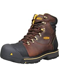 KEEN Utility Men's Milwaukee 6-Inch Steel Toe Work Boot,Slate