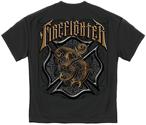 Firefighter T Shirt Firefighter | Firefighter Race for A Cure Shirt FF2112