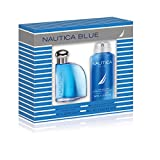 Nautica Blue 2 Piece Gift Set (1.7 Ounce Plus 4.0 Ounce Body Spray)