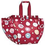 Reisenthel Easyshoppingbag, Bag for Shopping Trolley, Shopping Bag, Funky Dots 2 (Red), UJ3048