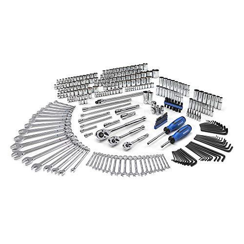 Kobalt 300-Piece Standard (Sae) And Metric Mechanic's Tool Set Designed For Tool Box