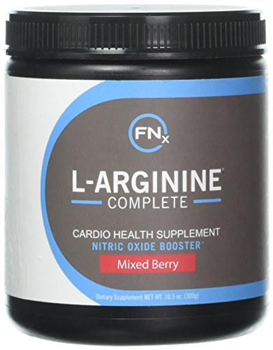 Fenix Nutrition L-Arginine Complete, Mixed Berry - 5000mg L Arginine, Nitric Oxide Booster, Natural Supplement, Increases Energy and Endurance