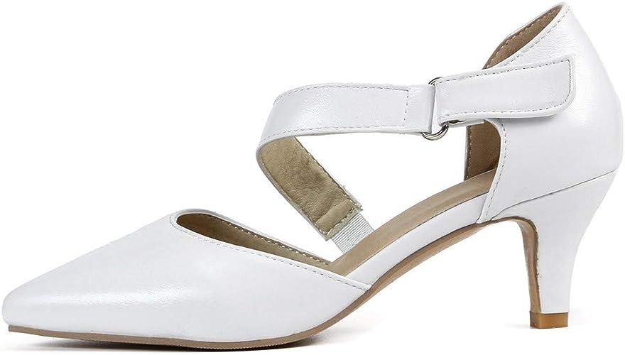 Femme Chaussures /à Petits Talons,Soiree Chaussures /à Bout Pointu /à la Cheville,Sandales Printemps /Ét/é