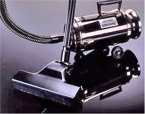 Classic Black Omnivac™ by Metro Vacuum Cleaner