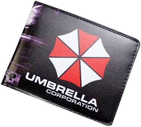 Resident Evil Umbrella Corp Logo Bi-fold Men's/Boys Wallet with Gift Box