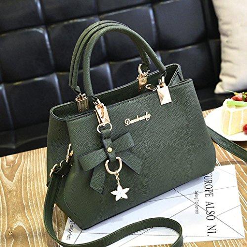 Leather Women Crossbody Satchel Sonnena Green Handbag Bag Messenger Shoulder Twdqdg