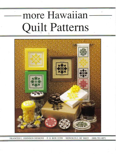 More Hawaiian Quilt Patterns for Cross Stitch by - Hawaiian Cross Stitch