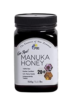 Pacific Resources International 20+ 1.1lbs Manuka Honey