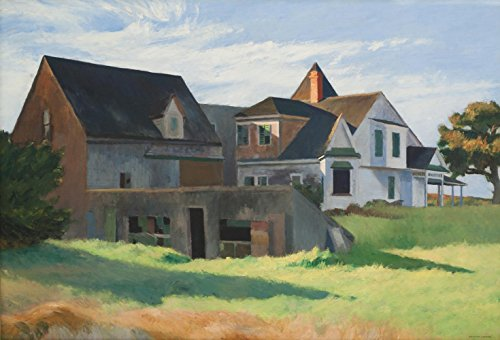 Edward Hopper - Cape Cod Afternoon, Size 24x36 inch, Canvas art print wall décor (Hopper Edward Cape)