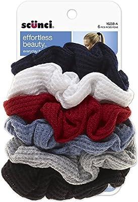 Scunci Effortless Beauty Thermal Twisters, Assorted 6 ea